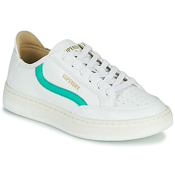 Scarpe Donna Sneakers basse Superdry BASKET LUX LOW TRAINER Bianco