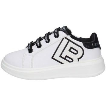Scarpe Bambina Sneakers basse Laura Biagiotti 6605 BIANCO