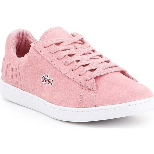 Scarpe Donna Sneakers basse Lacoste Carnaby Evo Rosa