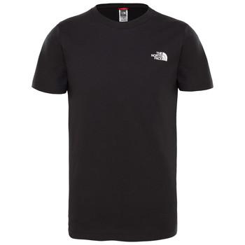 Abbigliamento Bambino T-shirt maniche corte The North Face SIMPLE DOME TEE Nero