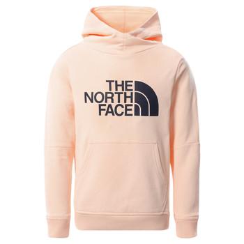 Abbigliamento Bambina Felpe The North Face DREW PEAK HOODIE 2.0 Rosa