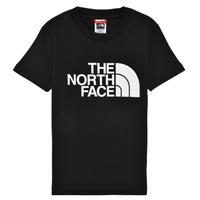 Abbigliamento Bambino T-shirt maniche corte The North Face EASY TEE Nero