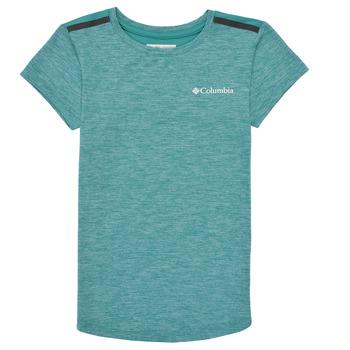 Abbigliamento Bambina T-shirt maniche corte Columbia TECH TREK Verde