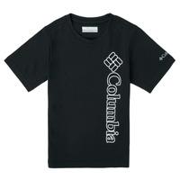 Abbigliamento Bambino T-shirt maniche corte Columbia HAPPY HILLS GRAPHIC Nero
