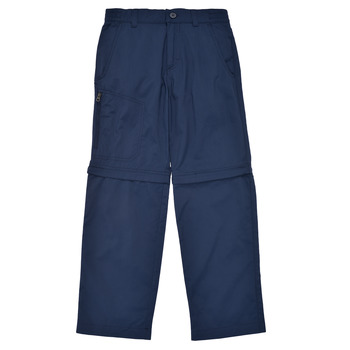 Abbigliamento Bambino Pantaloni 5 tasche Columbia SILVER RIDGE IV CONVERTIBLE PANT Marine