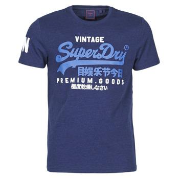Abbigliamento Uomo T-shirt maniche corte Superdry VL NS TEE Blu