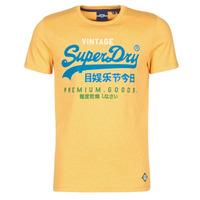 Abbigliamento Uomo T-shirt maniche corte Superdry VL TRI TEE 220 Giallo