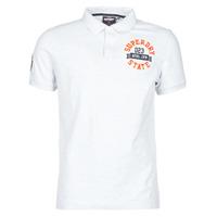 Abbigliamento Uomo T-shirt maniche corte Superdry CLASSIC SUPERSTATE S/S POLO Grigio