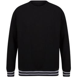 Abbigliamento Felpe Front Row FR840 Nero/Grigio