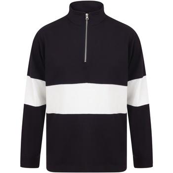 Abbigliamento Uomo Maglioni Front Row FR06M Blu navy/Bianco