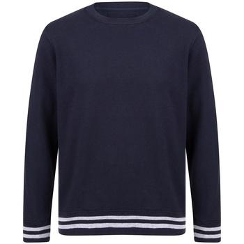 Abbigliamento Felpe Front Row FR840 Blu/Grigio