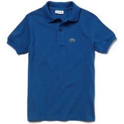 Abbigliamento Unisex bambino Polo maniche corte Lacoste YPJ2909