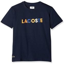 Abbigliamento Unisex bambino T-shirt maniche corte Lacoste TJ6741