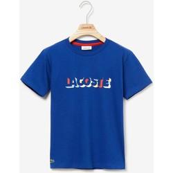 Abbigliamento Unisex bambino T-shirt maniche corte Lacoste TJ3290