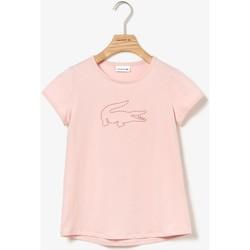 Abbigliamento Unisex bambino T-shirt maniche corte Lacoste TJ4467