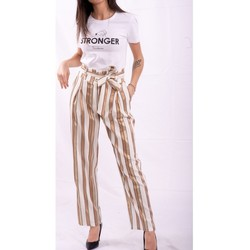 Abbigliamento Donna Pantaloni morbidi / Pantaloni alla zuava Fracomina FR20SP665 Colourless