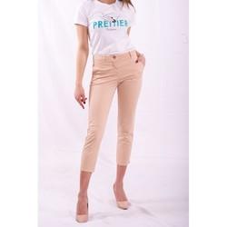 Abbigliamento Donna Chino Fracomina FR20SPCTINA14 Beige
