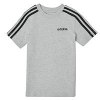 Abbigliamento Bambino T-shirt maniche corte adidas Performance YB E 3S TEE Grigio