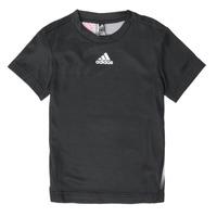 Abbigliamento Bambino T-shirt maniche corte adidas Performance B A.R. TEE Nero