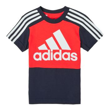 Abbigliamento Bambino T-shirt maniche corte adidas Performance B CB T Rosso / Marine