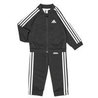 Abbigliamento Unisex bambino Completo adidas Performance 3S TS TRIC Nero
