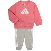 Abbigliamento Bambina Completo adidas Performance BOS JOG FT Rosa