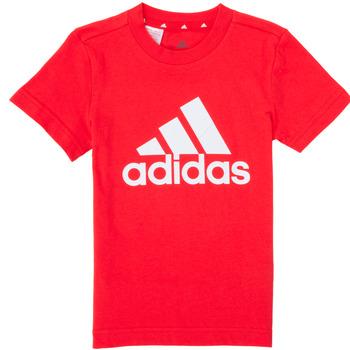 Abbigliamento Bambino T-shirt maniche corte adidas Performance B BL T Rosso