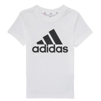 Abbigliamento Bambino T-shirt maniche corte adidas Performance B BL T Bianco