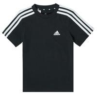 Abbigliamento Bambino T-shirt maniche corte adidas Performance B 3S T Nero