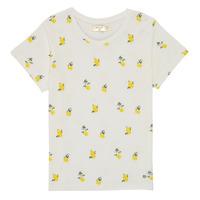 Abbigliamento Bambina T-shirt maniche corte Deeluxe NADY Bianco