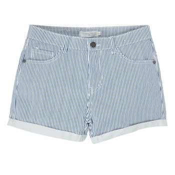 Abbigliamento Bambina Shorts / Bermuda Deeluxe BILLIE Bianco / Blu