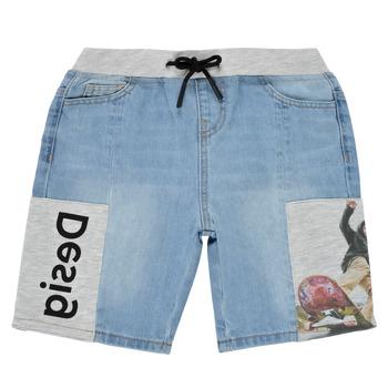Abbigliamento Bambino Shorts / Bermuda Desigual 21SBDD02-5053 Blu
