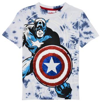 Abbigliamento Bambino T-shirt maniche corte Desigual 21SBTK09-5036 Multicolore