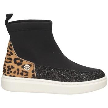 Scarpe Bambina Sneakers alte Florens K26842-2 NERO