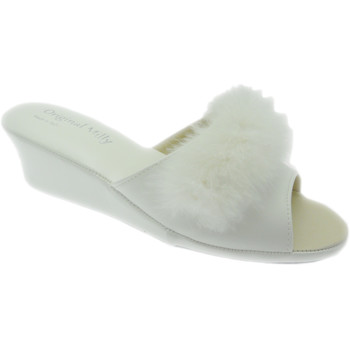 Scarpe Donna Ciabatte Milly MILLY102bia bianco