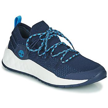 Scarpe Uomo Sneakers basse Timberland SOLAR WAVE LOW KNIT Blu