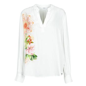 Abbigliamento Donna Camicie Desigual TIGRIS Bianco