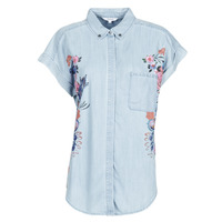 Abbigliamento Donna Camicie Desigual SULLIVAN Blu