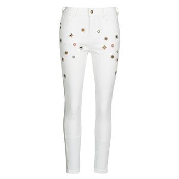 Abbigliamento Donna Jeans slim Desigual AUSTRIA Bianco