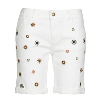 Abbigliamento Donna Shorts / Bermuda Desigual GRECIA Bianco