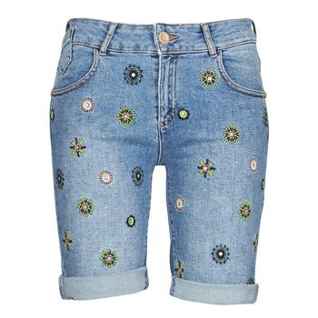 Abbigliamento Donna Shorts / Bermuda Desigual GRECIA Blu