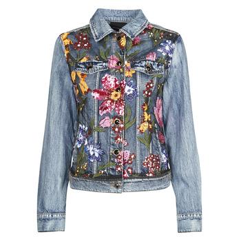 Abbigliamento Donna Giacche in jeans Desigual BALT Blu
