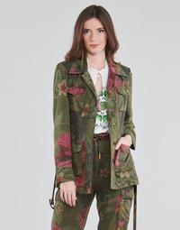 Abbigliamento Donna Giacche / Blazer Desigual CAMOASIS Kaki