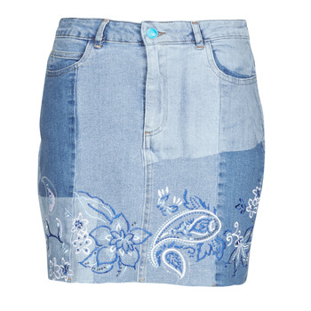 Abbigliamento Donna Gonne Desigual BE BLUE Blu