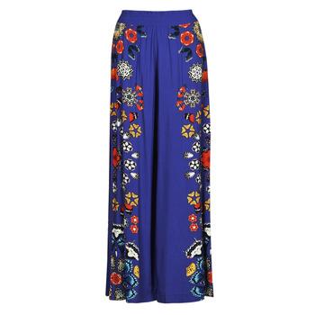 Abbigliamento Donna Pantaloni morbidi / Pantaloni alla zuava Desigual CHIPRE Blu