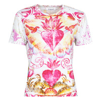 Abbigliamento Donna T-shirt maniche corte Desigual TATTOO Multicolore