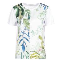 Abbigliamento Donna T-shirt maniche corte Desigual BUDAPEST Bianco