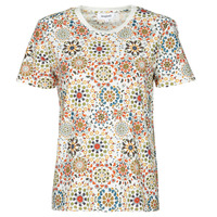 Abbigliamento Donna T-shirt maniche corte Desigual LYON Bianco