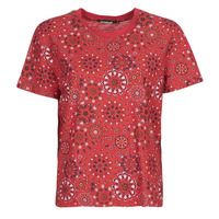 Abbigliamento Donna T-shirt maniche corte Desigual LYON Rosso