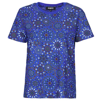 Abbigliamento Donna T-shirt maniche corte Desigual LYON Marine